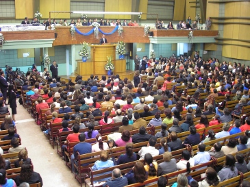 Pentecostal church in Colombia