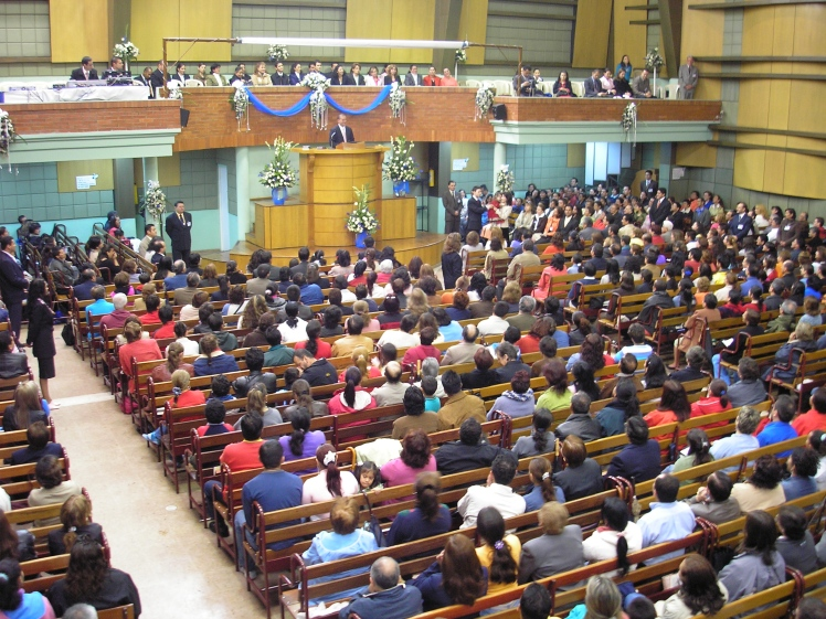 Pentecostal church in Colombia