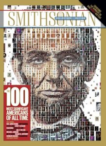 """Special issue of Smithsonian Magazine listing """"100 Most Significant Americans of All Time"""""""