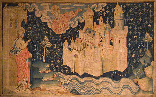 14th century tapestry of the New Jerusalem