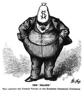 1871 Nast Cartoon of Boss Tweed