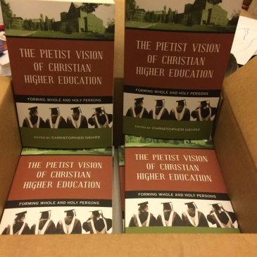 Copies of our Pietist Vision book