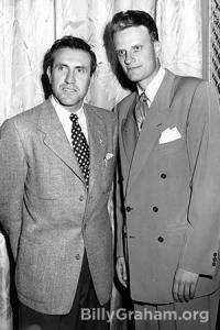 Zamperini and Graham in 1949