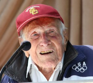 Zamperini in 2014