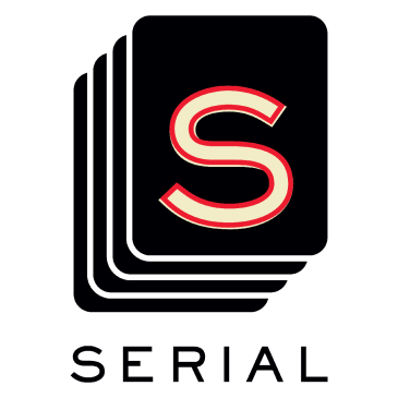 Logo for the wildly popular podcast, Serial