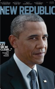 February 2013 cover of The New Republic