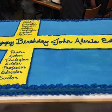 Edgren birthday cake