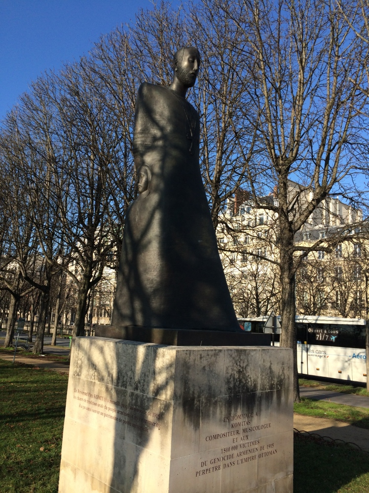 Armenian memorial in Paris