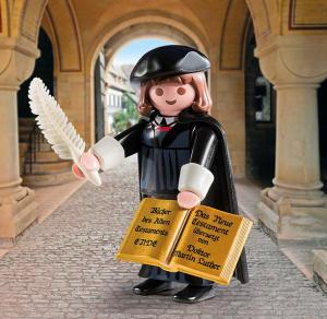 Playmobil's Martin Luther toy