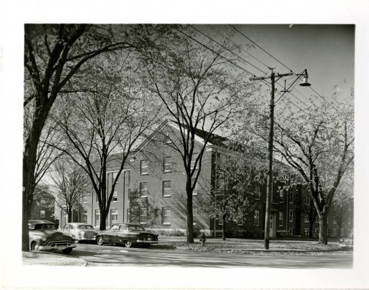 Edgren Dorm on Bethel's old campus