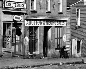 Slave trading firm in Atlanta, 1864