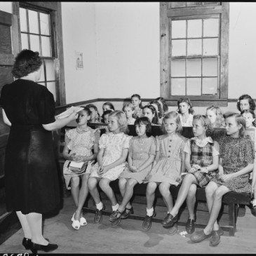 Sunday School in 1946 Kentucky
