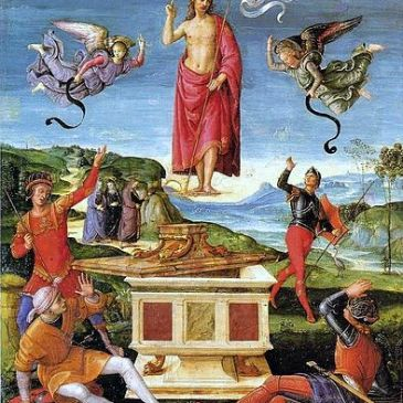 "Raphael, ""Resurrection"""