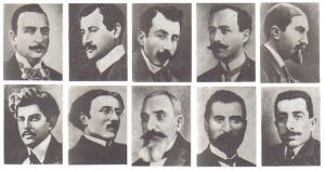 Ten of the Armenians arrested on 4/24/1915
