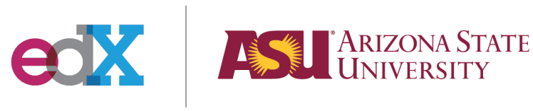 edX and Arizona State logos