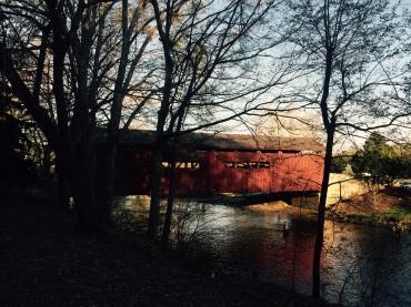 Messiah's covered bridge