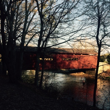 Messiah's covered bridge