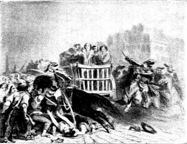 19th c. drawing of the Reign of Terror