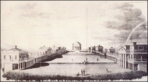 1826 sketch of the University of Virginia