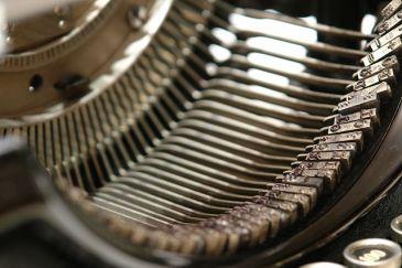 Inside an Underwood typewriter