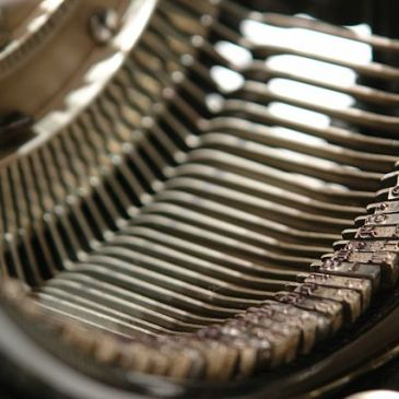 Inside an Underwood typewriter