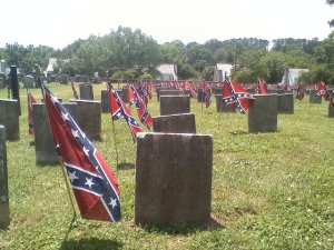 Confederate cemetery in Virginia