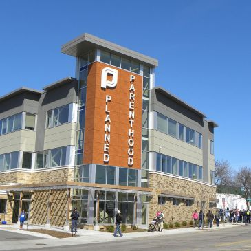 Planned Parenthood office in St. Paul, MN