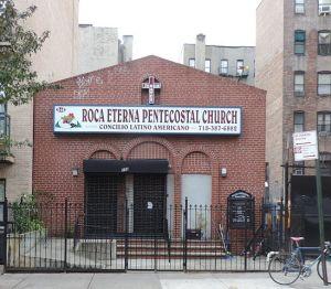 Pentecostal church in New York City