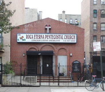 Pentecostal church in New York City