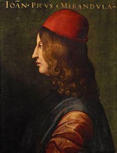 Pico della Mirandola (1463-1494)