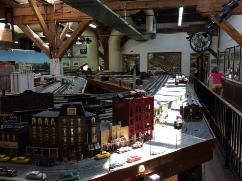 Main layout in the Twin City Model Railroad Museum