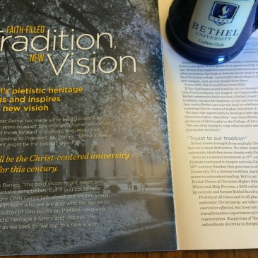 Article on Pietism in Summer 2015 Bethel Magazine