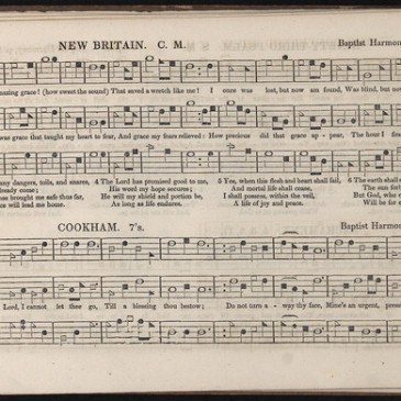 "1847 publication of ""Amazing Grace"""