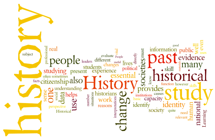 """Why Study History?"" Wordle"