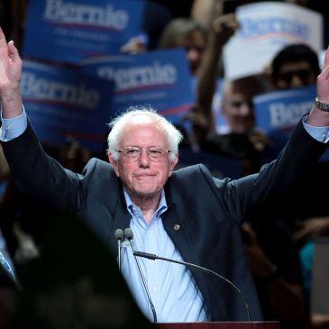 Bernie Sanders campaigning in Phoenix, AZ