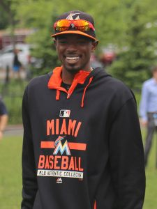 Dee Gordon with the Miami Marlins