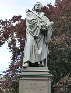 Martin Luther statue in Worms