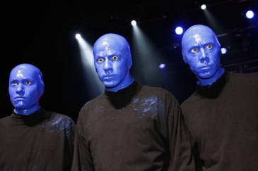 Blue Man Group in 2009