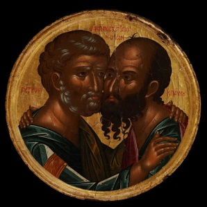 """The Embracing of Peter and Paul"""