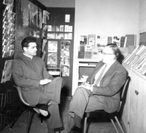 Myron Augsburger and David Alderfer, 1962
