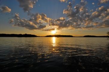 Balsam Lake at Sunset