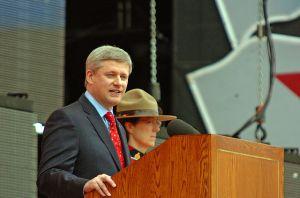 Stephen Harper in 2009