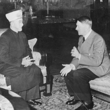 Photo of Adolf Hitler and Amin al-Husseini meeting in 1941