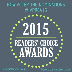 IVP Reader's Choice Awards 2015 logo