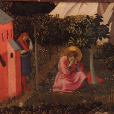 "Fra Angelico, ""The Conversion of Augustine"""