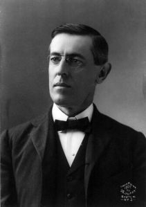 Princeton president Woodrow Wilson in 1902