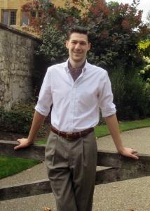 Fletcher Warren at Magdalen College, Oxford (2014)