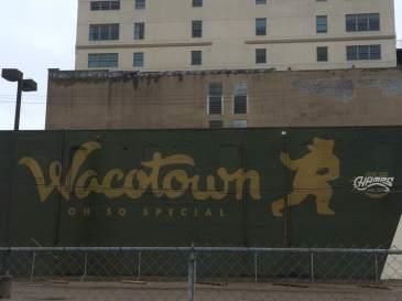 """""""Wacotown"""" mural in downtown Waco"""