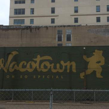 """Wacotown"" mural in downtown Waco"