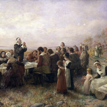 "Branscombe, ""The First Thanksgiving at Plymouth"""